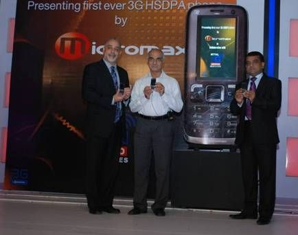 MTNL & MICROMAX OFFER 3G MOBILE PHONE AT RS 5499