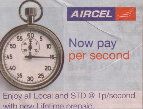 aircel-one-paise-per-second