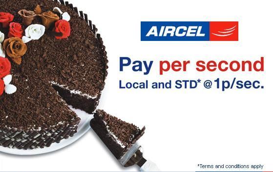AIRCEL Launches PAY PER SECOND Tariff in Mumbai