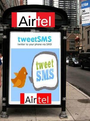 AIRTEL Launches 'TweetSMS'