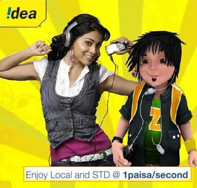 IDEA Introduces bouquet lowest tariff plans With Pay Per Second in Orissa