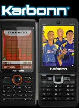 Karbonn Mobile Launches 2 New Handsets