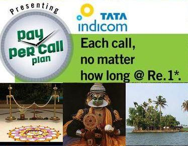 Tata Indicom Introduces PAY PER CALL Plan for postpaid subscribers in Kerala