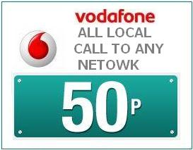 Vodafone Reduces Base Tariff, Now All local call 50p