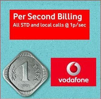 Vodafone Launches PAY PER SECOND Plan in Orissa