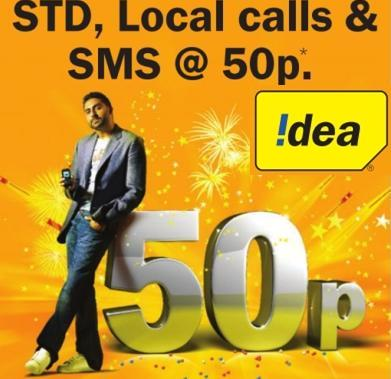 Idea To Offer Std Local Calls At 50 Paise Per Minute In Gujarat