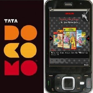 Tata Docomo Introduces Comix On The Go With Special Effects