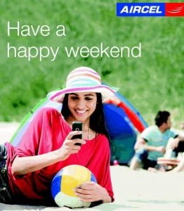 Aircel Launches Weekly Recharge for Unlimited Calls,SMS and GPRS