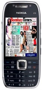 Times Of India Launches Mobile ePaper
