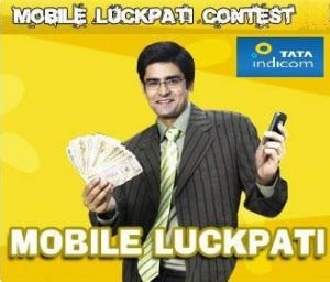 Tata Indicom announces Mobile Luckpati Contest in Kolkata