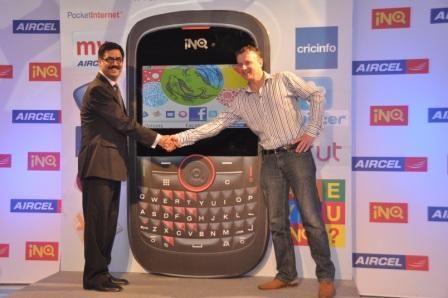 Aircel Launches Dynamic Social Mobile INQ CHAT 3G And INQ MINI 3G