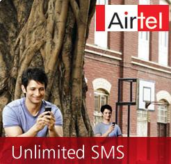 airtel unlimited sms pack