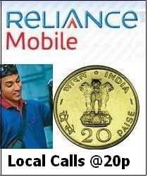 Reliance Mobile New TopUps