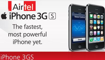 Airtel To Launch IPhone 3Gs