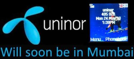Uninor To Launch Its Global Gsm Services In Mumbai By 1st Week Of June
