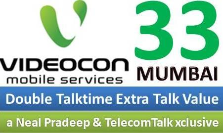 Videocon Mobile Services Launches STV 33 For Mumbai Circle