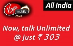 Virgin Mobile CDMA Commences Unlimited Calling offers