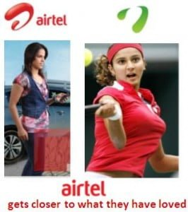 Airtel Brand Launch Inspired By Videocon And Samsung