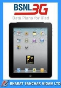 BSNL Revises iPad 3G Data Plans