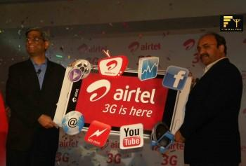 Mr. Atul Bindal, President - Mobile Services, Bharti airtel during 3G launching in Jaipur