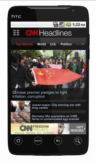 CNN App Now Available Globally For Free On Android Market