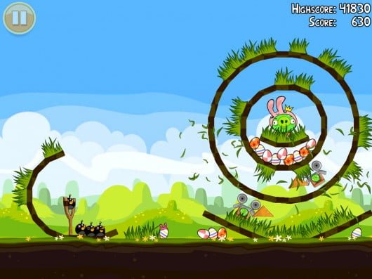 Angry Birds Seasons: Easter Eggs Now In Ovi Store For Symbian3