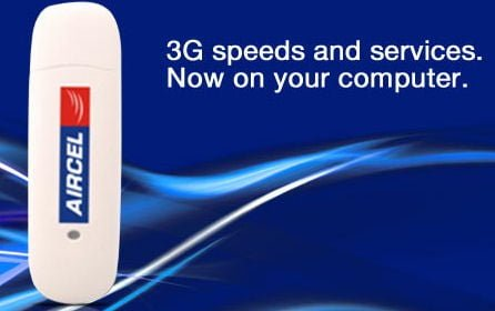 Aircel Launches 3G Dongle Turbo 3G