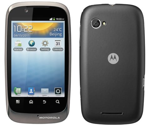 Motorola Launches Budget Friendly Android 2.3 Smartphones