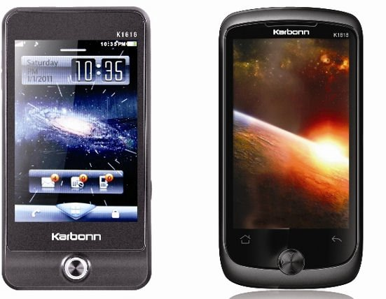 Karbonn Mobiles Introduces New Range of Touch Screen Smart Phones