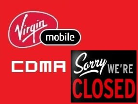 Virgin Mobile CDMA Stops Adding New Customers