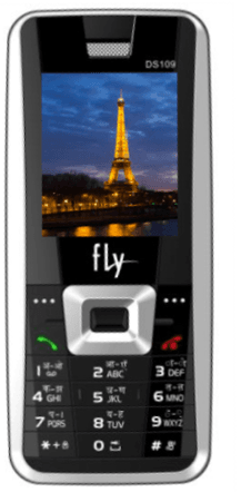 Fly Mobiles Launches DS109 With Diamond Cut Keypad