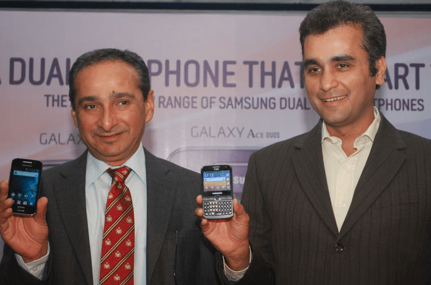 Samsung Introduces Dual SIM Smartphones For Indian Consumers