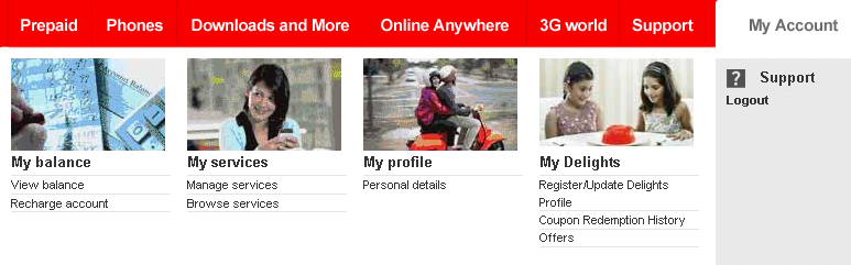 Vodafone Launches My Account Services For Prepaid Customers Offers Balance and Call History