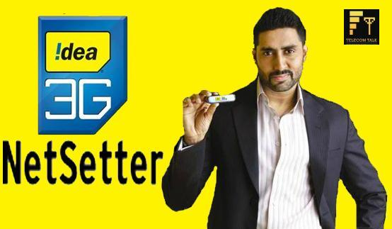 Idea Cellular To Offer 3G Dongle With 2GB Cloud Based Data Storage Services