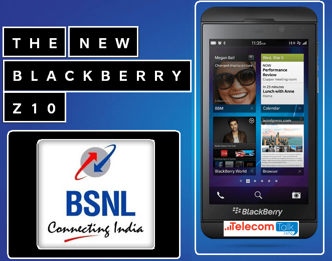 BSNL Special Plans for BlackBerry Z10