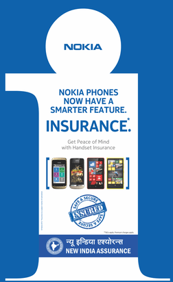 Nokia Partners with New India Assurance Launches Mobile Phone Insurance