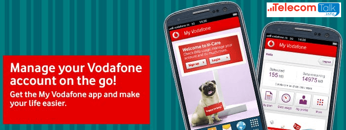 My Vodafone App_Mange your Vodafone account on the go