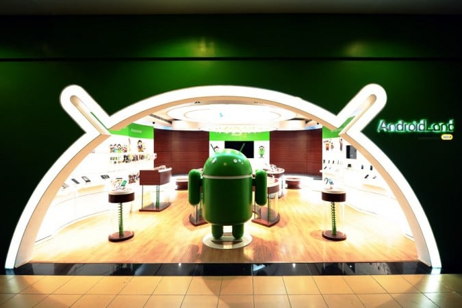Android Land Stores in India