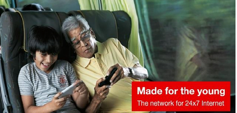 Vodafone India made For Young
