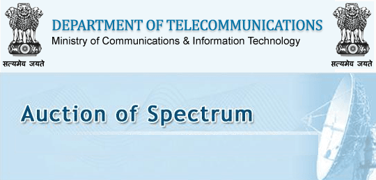 1800MHz and 900MHz Spectrum Auction 2014_ India