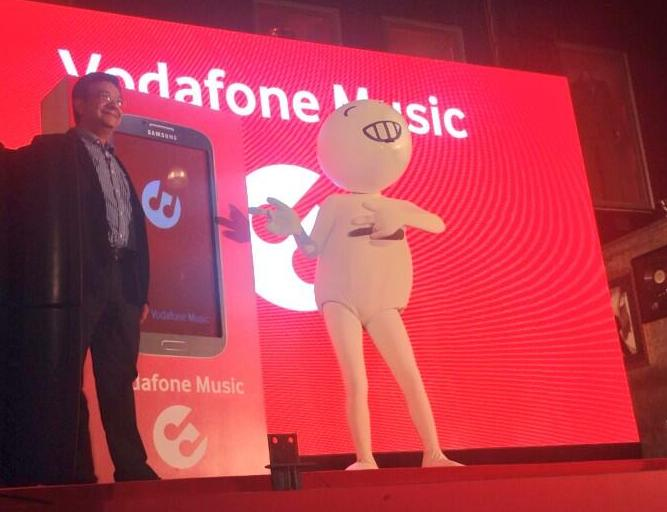 Vodafone Music Service India