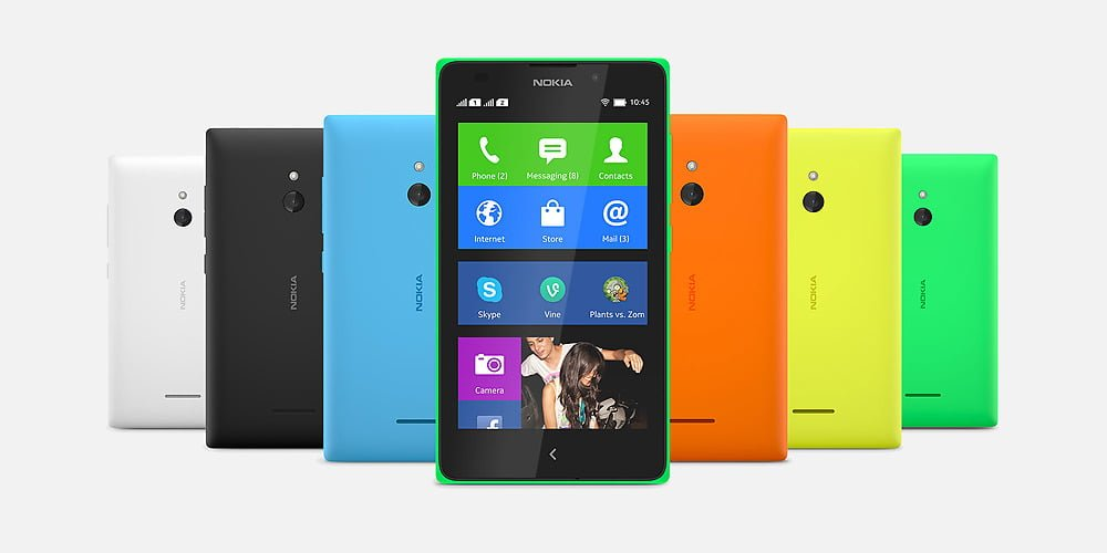 Nokia XL android Dual-SIM phone