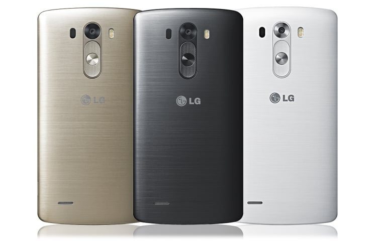 LG G3 Official Back Design