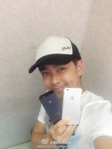 Jimmy Lin With Apple iPhone 6