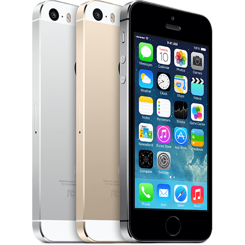 Apple iPhone 5S Colours
