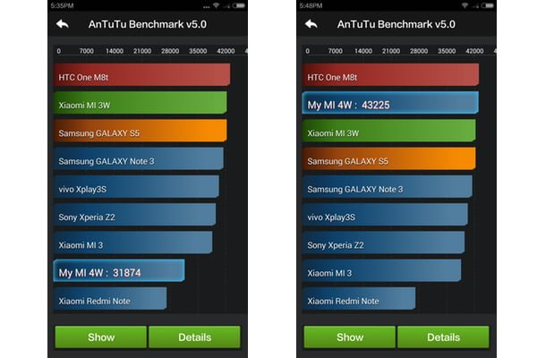 Xiaomi Mi 4 - Screenshot - AnTuTu Benchmark