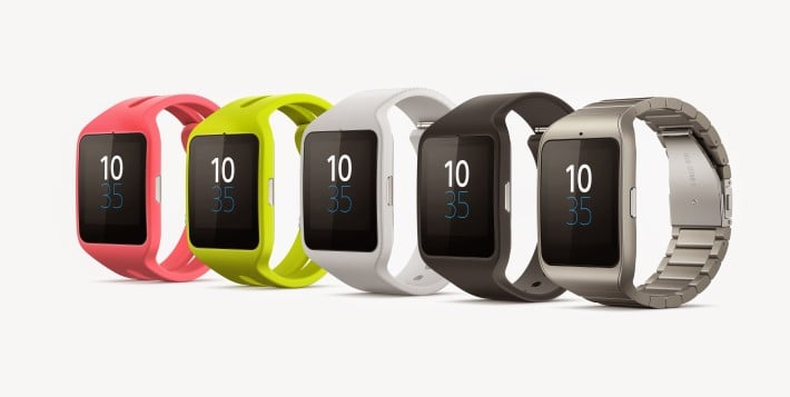 Sony SmartWatch 3 Colours SW3