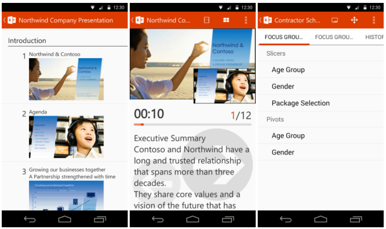 Microsoft Office Remote App Android