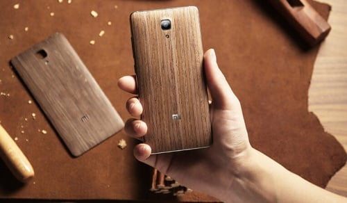 Wooden back cover