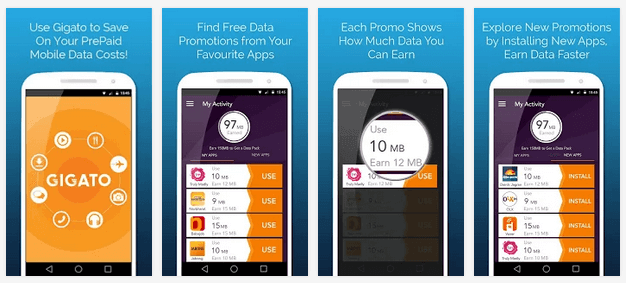 Gigato   Free Mobile Data   Android Apps on Google Play